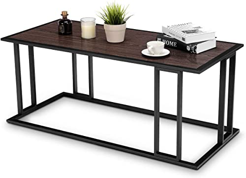 new arrival Giantex Accent Coffee Table lowest for Living Room new arrival Table Sofa Side Table End Cocktail Table,Brown outlet online sale