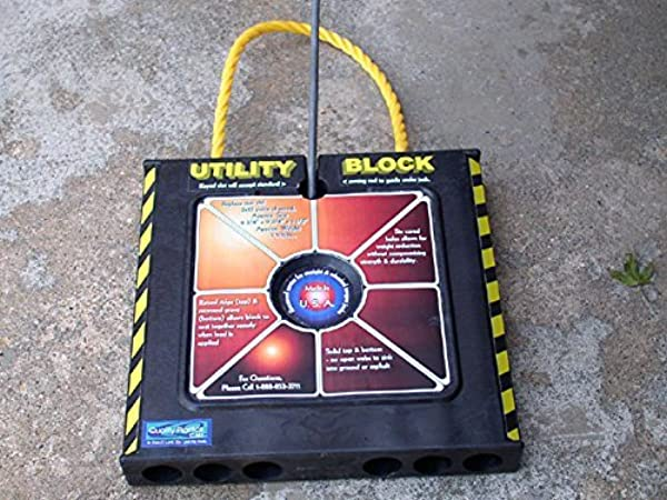Quality Plastics Utility Block Four Pack
