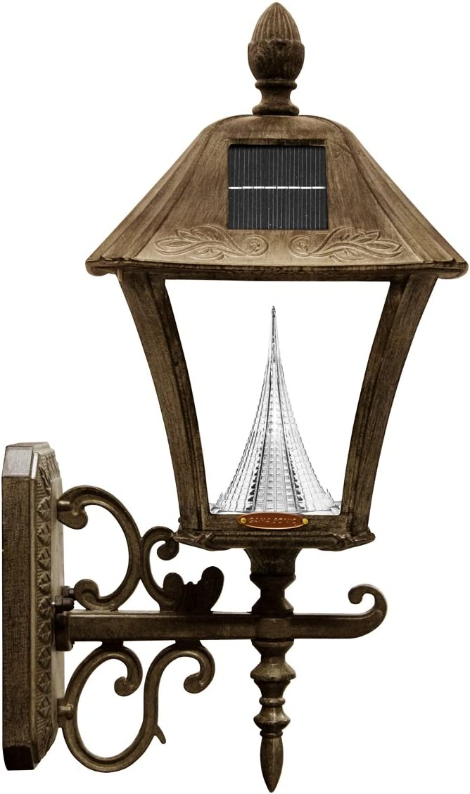 Gama Genuine Free Shipping Sonic Baytown Solar Outdoor Light Fixture LED shopping Mount Wall