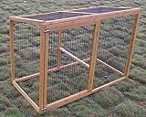 Eggshell Extension de poulailler Windsor 100 % résistant aux renards avec fil...