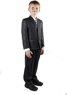RageIT Boys 5 Piece Suit Wedding Party Jacket Trousers Shirt Waistcoat Tie