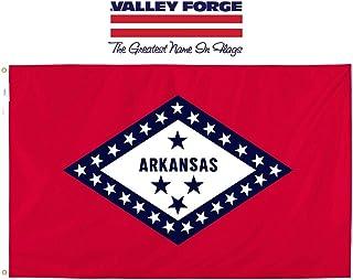 Valley Forge Flag Made in America 3' x 5' Nylon Arkansas State Flag