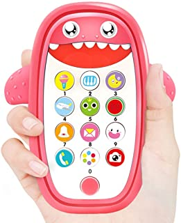 Baby Toy, Phone Toys with Light and Music, Early Learning Educational Smartphone Toy for Toddlers, Role Play Fun Toys for 12-18 Months Old