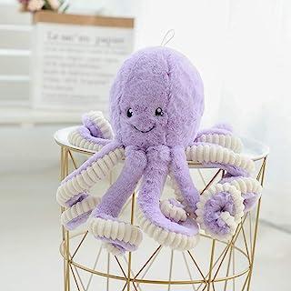 lapeche Plush Cute Octopus Dolls Soft Toy Stuffed Marine Animal for Boys Girls Birthday Presents (Purple, 24 inch)