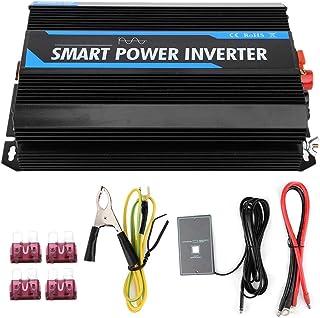 Power Inverter, 2000W 12V to 220V Pure Sine Power Voltage Inverter Transformer Auto Accessory