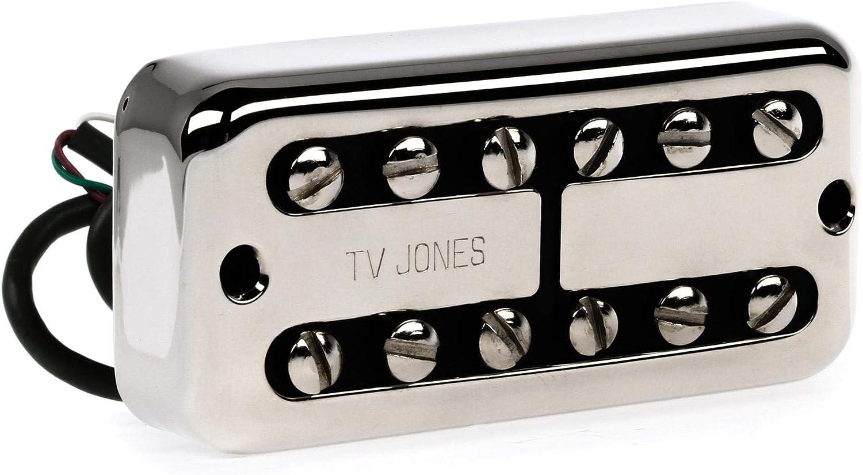 TV Jones Choice Power Tron New Shipping Free Shipping - Neck Pickup Nickel