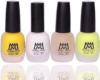 Makeup Mania Premium Nail Polish Set, Velvet Matte Nail Paint Combo of 4 Pcs, Perfect Gift for Girls and Women (MM-63), Multicolor, 300 g