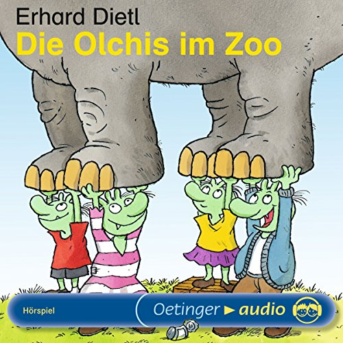 Die Olchis im Zoo Audiobook By Erhard Dietl cover art