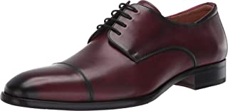 Mezlan Republic - أحذية رجالية فاخرة - جلد العجل الأوروبي مع لمسات نهائية يدوية - مصنوعة يدويًا في إسبانيا - عرض متوسط