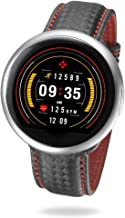 MyKronoz ZeRound2HR-Premium Smartwatch with Heart Rate Monitoring - Brushed (Certified Refurbished)