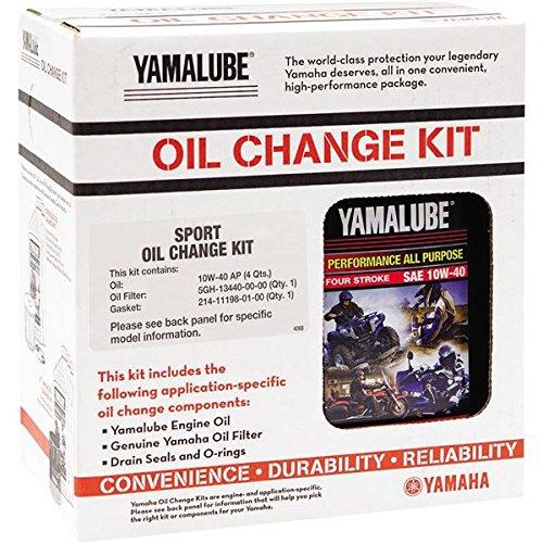 Yamalube Sport Oil Change Kit 1Kt (10W40 Ap Qty 4)