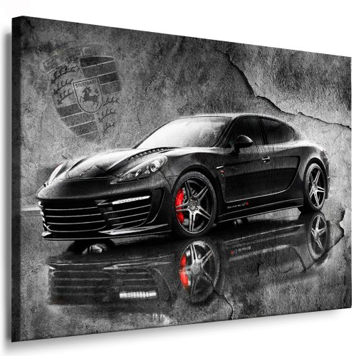 Porsche Panamera Stingray GTR Kunstdruck Leinwand Bild 100x70cm / Leinwandbild fertig auf Keilrahmen - Kunstdrucke, 13 Leinwandbilder, Wandbilder, Poster, Gemälde, Pop Art Deko Kunst Bilder