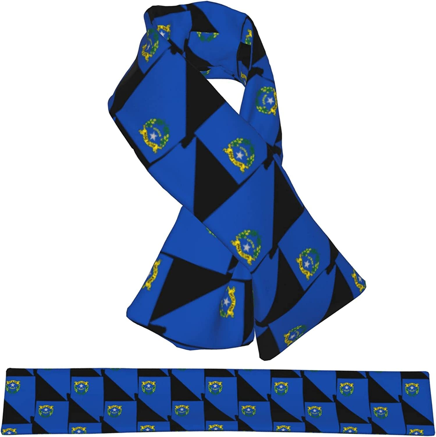 Award Flag Map Of Nevada Flannel Cross Collar Outlet sale feature Shawl Wa Scarf Wrap Neck