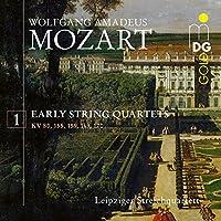 Mozart: Fruhe Streichquartette Vol. 1