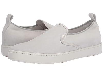 Santoni Panel Sneaker (White) Men