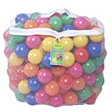 Pack of 200 pcs Crush Proof Balls. Made with Phthalate Free; BPA Free; Lead Free & non-PVC Plastic Each Ball will withstand over 90 pounds of weight. Guaranteed Crush Proof, Phthalate Free & manufactured with non-Recycled Plastic Material Each ball m...