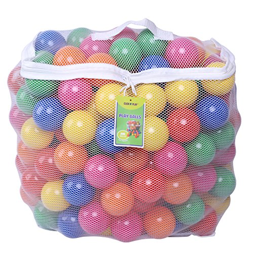 Click N' Play Pack of 200 Phthalate Free BPA Free Crush Proof Plastic Ball, Pit...