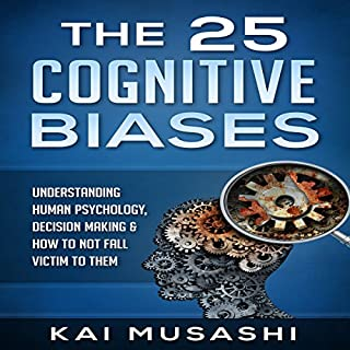 The 25 Cognitive Biases audiobook cover art