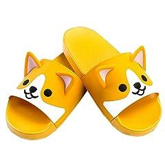 5e872240a1a98 FUYU Women's Cute Cartoon Animal Ears Corgi Non-Slip Shower S ..