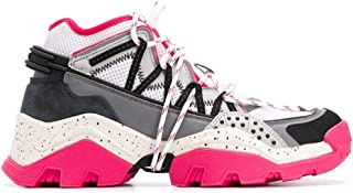 KENZO Luxury Fashion Womens FA52SN301F5227 Fuchsia Hi Top Sneakers | Spring Summer 20