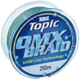 Zebco 2659124 Topic OMX - Hilo de Pescar (0,24 mm, 250 m)