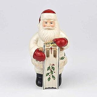 JJDSN Decoración del hogar Adorno Estatuilla Decoración navideña Regalo Santa Claus Trineo Adornos Estatuilla de cerámica ...