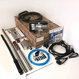 Eberspacher Hydronic S3 HS3 Universal 5kW 17000BTU Vehicle Water Heating Kit including Easy Start PRO 12v Timer Exhaust Silencer Automatic Altitude Adjustment | 292135000011