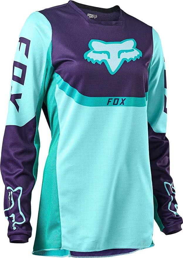 Fox Wmns 180 Voke Jersey Aqua Xs Bekleidung