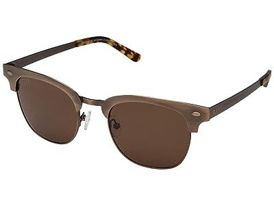 DIFF Eyewear Emmet (Brown/Brown) Fashion Sunglasses
