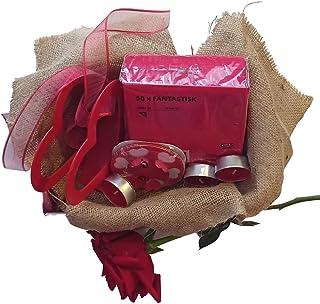 IKEA Special Day Set The savior mini IKEA Red Set for Valentine's Day, Wedding Anniversary, Birthday celebrations