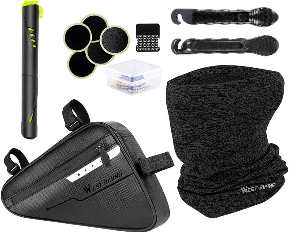 Bicycle Bag Repair Tool Multifunction Tyre Mask Suit Max 57% OFF Max 51% OFF Kit