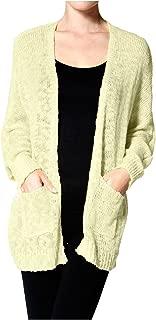 Women's Long Sleeve Oversize Open Front Cardigan