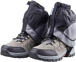 TRIWONDER Gaiters Low Gators Lightweight Waterproof Ankle Gaiters for Hiking Walking Backpacking