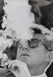 President John F Kennedy Smoking Archival Custom Poster 20x30 Inch (50cmx75cm)