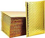 STARVAST 40 Pcs Enveloppes à Bulles, Enveloppe Matelassée 6 x 9Inch / 152 x 230MM, Enveloppe Expedition Imperméable - d'or
