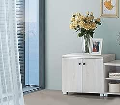 Maison Concept Wooden Cabinet, Off White - H 520 mm x W 400 mm x D 600 mm