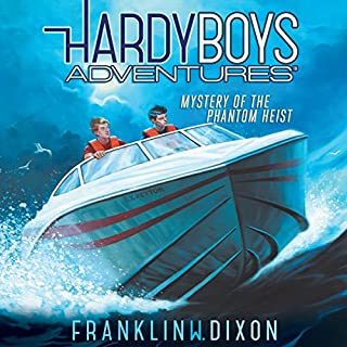 Mystery of the Phantom Heist     Hardy Boys Adventures, Book 2              Written by:                                                                                                                                 Franklin W. Dixon                               Narrated by:                                                                                                                                 Tim Gregory                      Length: 2 hrs and 59 mins     2 ratings     Overall 4.5