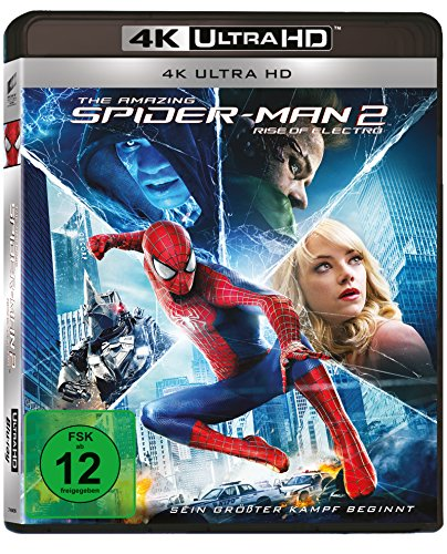 The Amazing Spider-Man 2 - Rise of Electro (4K Ultra HD)] [Blu-ray]