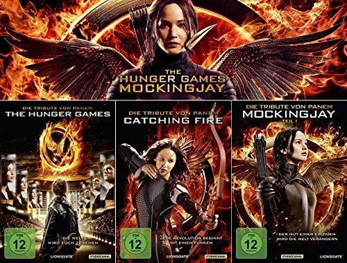 Die Tribute von Panem 1 + 2 + 3 | Hunger Games | Catching Fire | Mockingjay 1 [3er DVD-Set]