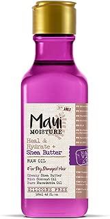 Maui Moisture Heal & Hydrate + Shea Butter Raw Oil, 4.2 Ounce