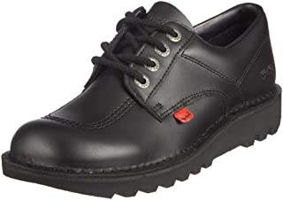 Kickers Men's Kick Lo Core Shoes, Black/Black, 6 UK