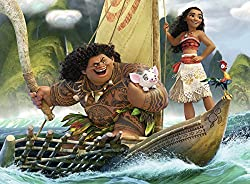 Moana puzzle for kids with 100 pieces