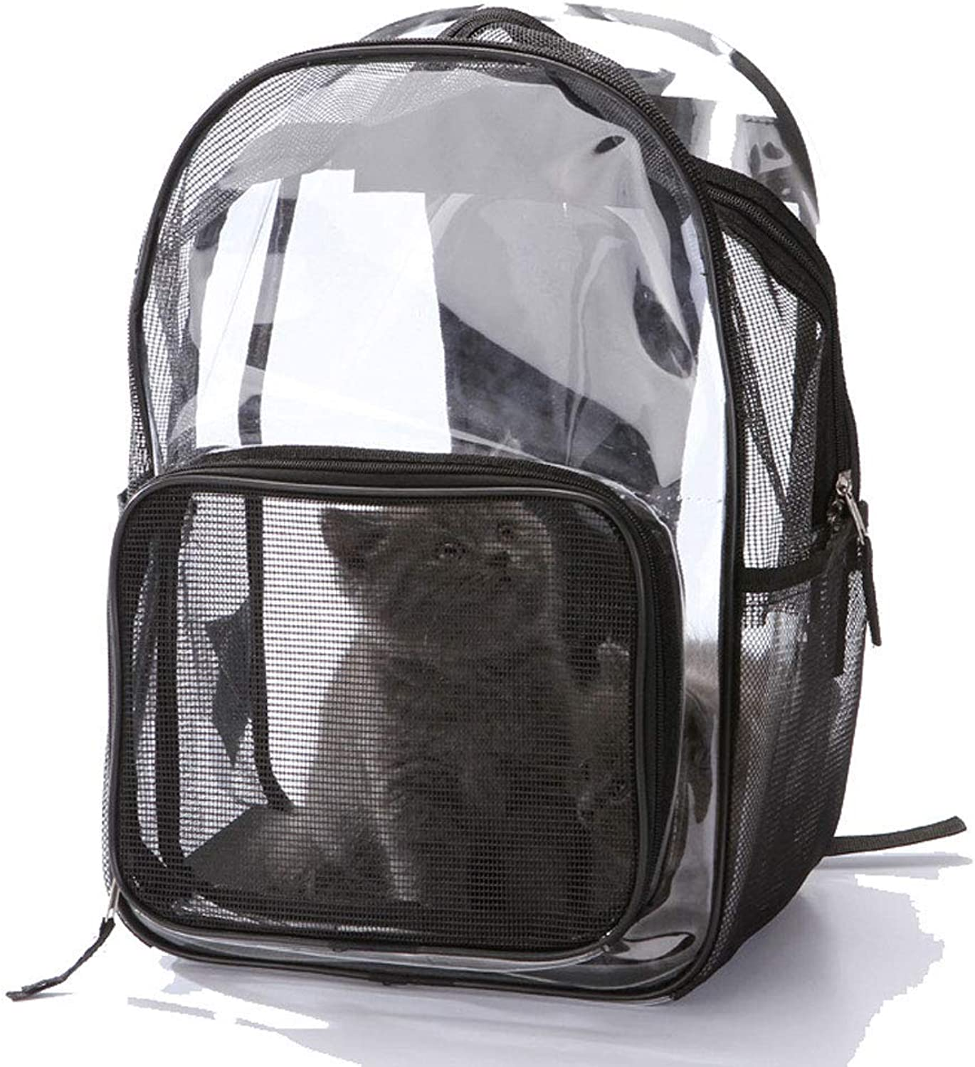 Pet Travel Carrier Pet Carrier Backpack Transparent Bag for Small Dogs, Cats, Puppies, Kittens, Pets Ourtdoor Pet Bag