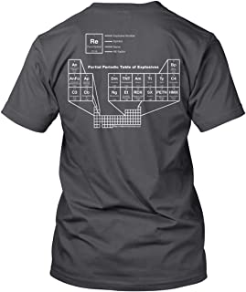 RE Factor Tactical Periodic Table of Explosives T Shirt