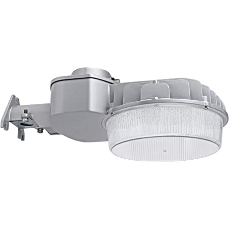 5-Year Warranty CINOTON LED Barn Ligh 5600lm Mounting Arm Wet Location Available Outdoor Security Light Farm//Garage//Sidewalk 5000K Dusk to Dawn Yard Light with Photocell