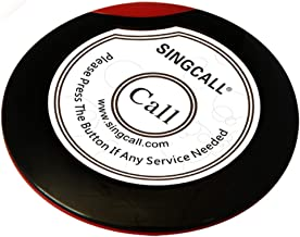 SINGCALL Wireless Waiter Paging Button,Ultrathin Single Call Button(APE700) It Can't Be Used Alone