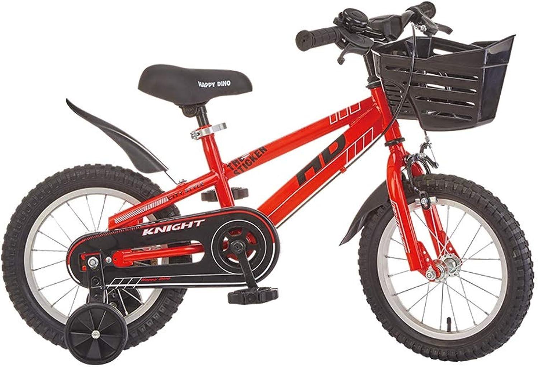 el precio más bajo XXY XXY XXY Bicicletas para Niños Bicicletas para niñas 3-4-6 años Bicicletas para Niños Bicicleta roja de 14,16 Pulgadas Bicicletas Bicicleta para Niños Niños  más orden