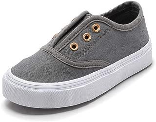 KaMiao Toddler Shoes Soft Anti-Slip Walking Shoes Fashion Little Kid Boys Girls Slip On Canvas Sneaker