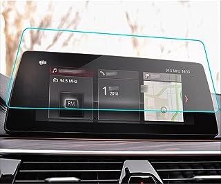 HAZYJT Compatible avec B-MW 5 Series G30 520525530545 2019 Radio DVD GPS LCD Écran Autocollant Voiture Navigation Verre Tr...