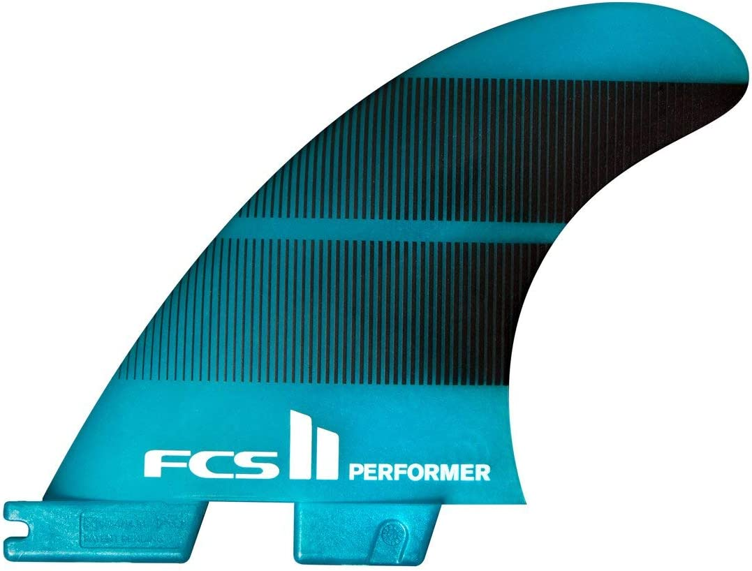 Miami Mall FCS II Performer Neo Glass Tri-Quad Fin Gradient Set Medium Cheap sale Teal